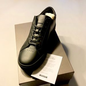 Greats Sneakers Black Leather/Black sole